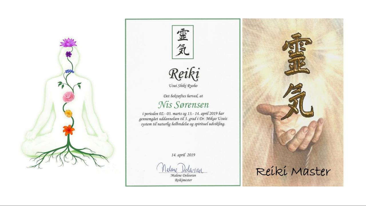 Reiki Mester Nis Sørensen