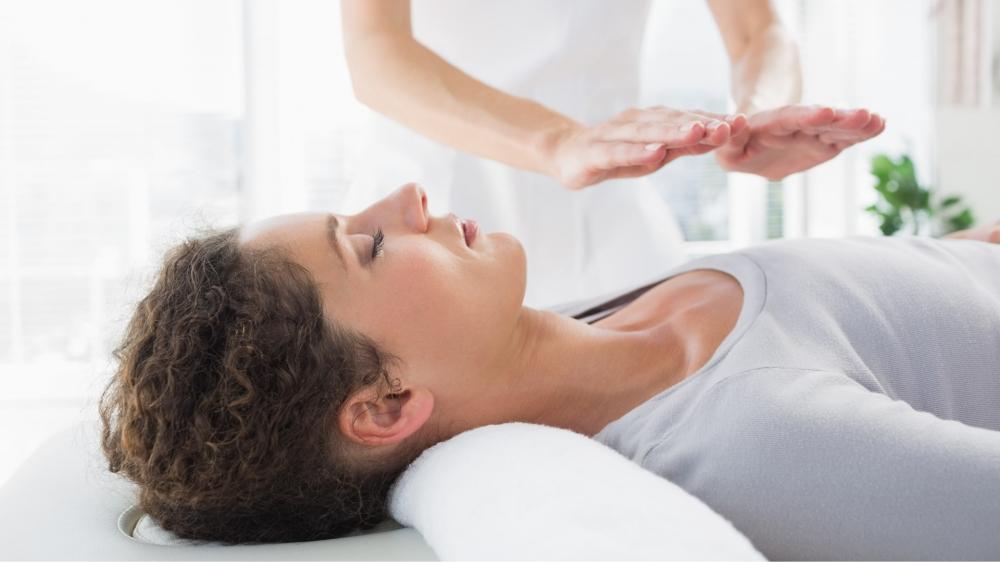 Reiki Healing, Sanselig Healing